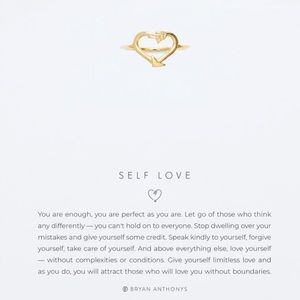 Bryan Anthonys Self Love Ring In Gold - Size 6